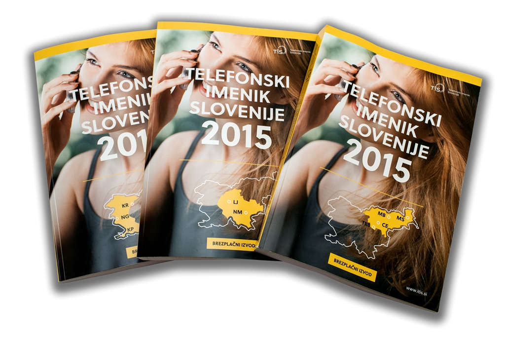 Telefonski imenik Slovenije 2015
