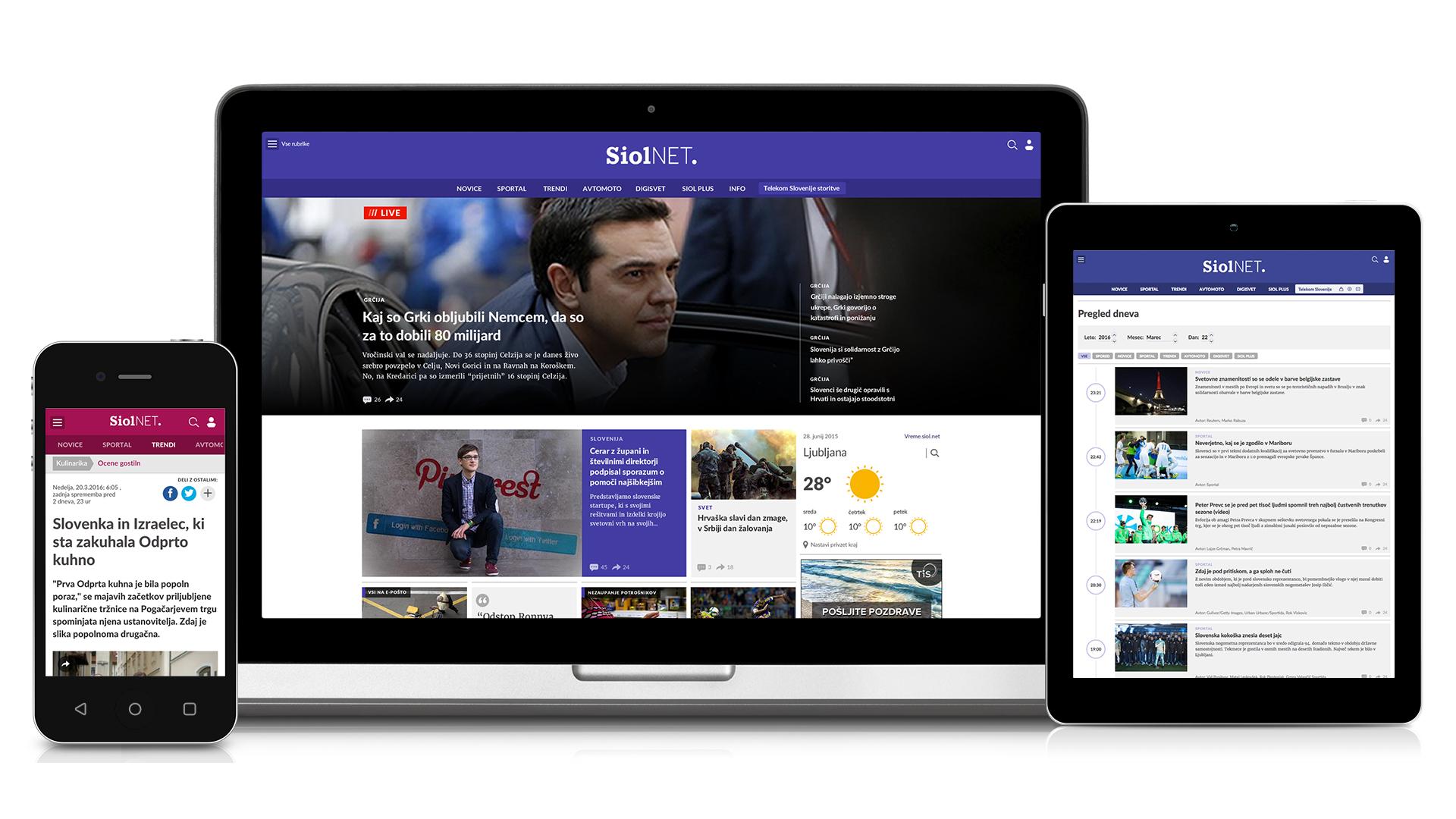 Prenovljen Siol.net
